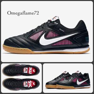 Nike Supreme SB Gato QS, AR9821-001, Sz UK 6, EUR 39, USA 6.5, Black & Pink