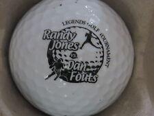 (1) Nfl Football Logo Golf Ball (Randy Jones & Dan Fouts Legends)