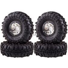 """4PCS 1.9""""  Metal Wheel/Rim & Super Swamper Tyre For RC 1/10 Rock Crawler"""