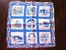 MASON CITY IOWA 1953 Centennial Souvenir Handkerchief Hanky NEW