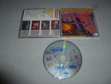 SEGA CD VIDEO GAME COBRA COMMAND DISC ONLY JVC X EYE NOMAD CDX