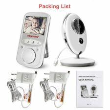 Wireless Baby Monitor Radio Nanny Music Intercom Ir Portable Camera Audio Video