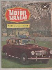 Motor Manual 1955 Sep 1 131 Goliath Austin A40 Ute Renault Fregate MG Hudcon