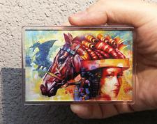 Cavallo Arte Magnete Frigo O Ufficio stampa di dipinto originale dipinto BYS. hahonin