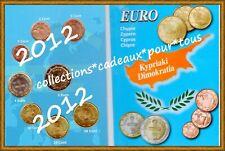 CHYPRE Série 2012 - 8 Monnaies 1 cent à  2 Euro Sous euro set