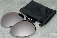Genuine Oakley New Ti Crosshair Titanium - Black Iridium Polarized Lenses + Bag
