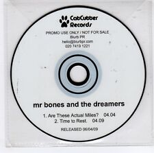 (GJ753) Mr Bones And The Dreamers, Are These Actual Miles? - 2009 DJ CD