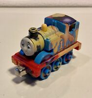 2014 Collector Thomas & Friends Take N Play Along Diecast Train - Splashed Paint
