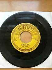 Carl Perkins Glad All Over RARE ROCKABILLY 45 SUN RECORDS ORIGINAL PRESSING
