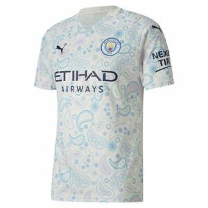 Puma Football Soccer Manchester City MCFC Mens Third 3rd Jersey Shirt 2020 2021