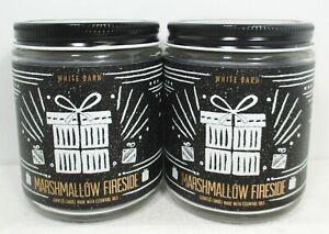 Bath & Body Works Marshmallow Fireside Single Wick Jar Candles 7 oz
