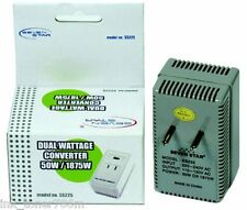 Travel-Sized Power Converter 18750 Watts 220 Volt to 110 volt step down Travel