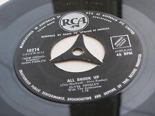 ELVIS PRESLEY  1958 AUSTRALIAN 45  ALL SHOOK UP RCA  TRI CENTRE