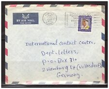 8878) KUWAIT 1969 Cover To Germany