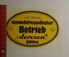 Aufkleber/Sticker: Aeroxon Giftfrei wir sind ein umweltfreundlicher (301116180)