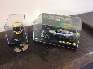 RARE 1994 AYRTON SENNA WILLIAMS FW16 Renault Car & Racing Helmet