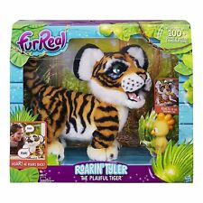 FurReal Friends Roarin' Tyler, the Playful Cute & Cuddly Interactive Toy Tiger