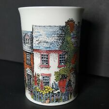 Dunoon Cottages Coffee Mug 4x3 Bone China Excellent Cats Flowers Garden Scullard