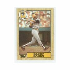 1987 TOPPS BARRY BONDS ROOKIE W/ COMPLETE TOPPS SET