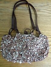 Moyna small mother-of-pearl shell purse