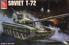 AMT ERTL 1:35 Soviet T-72 Plastic Model Kit #8671U