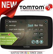 New TomTom GO Professional 6200 EU Trucker GPS SatNav Truck Fleet Coach Van Car