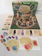 Jane Austen Pride and Prejudice Board Game BONUS Version 2 Game Cards!