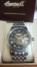 Ingersoll INQ030BKSL Grafton Men's Silver Wristwatch