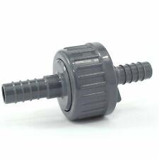 PVC Rückschlagventil mit Tüllen 13 mm, für Luft und Wasser Anwendungen geeignet