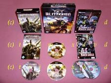 3x PC _Rainbow Six 3 Raven Shield & Battlestrike The Road To Berlin & Blitzkrieg