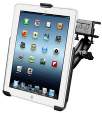 RAM iPad Flat Clamp Glareshield Mount, All iPad Original Size Without Case