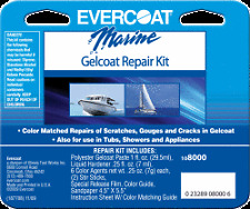 Evercoat Seacare Gelcoat Repair KIT Fiberglass Boat Bathtub Countertop 108000
