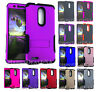 Armor Hybrid Shock Proof Silicone Cover Case for ZTE ZMax Pro / Carry - Color