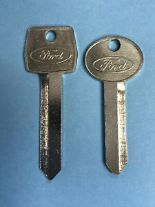 Ford Key Blank Set, OEM, 1985-Mid 1990s, H54/H60 & H50 (1184FD/1190LN & S1167FD)