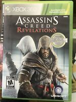 Assassin's Creed Revelations (Xbox 360 2009) Platinum Hits CIB Complete & Tested