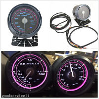 DC12V Pink LED Backlight Car Water Temperature Gauge Meter 20-120 Celsius Degree