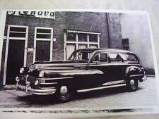 1946 1947 1948 CHRYSLER AMBULANCE ? HEARSE ?   11 X 17 PHOTO  PICTURE