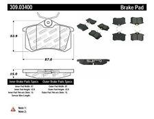 Disc Brake Pad Set-Sedan Rear Stoptech 309.03400