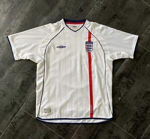Original Umbro England Fußball Trikot Größe XL