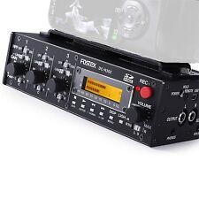 Fostex Dc-r302 Portabler 3-in-2 Audirecorder DSLR SD USB Video Vertonung Audio