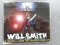 WILL SMITH - MEN IN BLACK - CD - 4 TRACK SINGLE