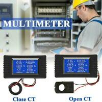 PZEM-022AC Digital Display Power Monitor Meter Voltmeter Meter Ammeter Freq U4V7