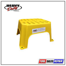 Electricians Hop Up, Step Up, Safe Step, Work Platform, Yellow Step Stool