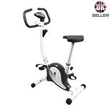 Indoor Excercise Bike LCD Digital Display Adjustable Height Cardio Fitness Gym