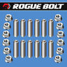SBC HEADER STUD KIT BOLTS STAINLESS STEEL SMALL BLOCK CHEVY 283 327 350 400 TPI