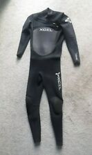 #9219 XCEL FULL WETSUIT 3/2MM  MEN'S LARGE PREOWNED