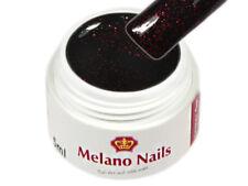 Glitter UV Gel Made in Germany 5ml Black Star Magic Red