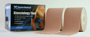 """Kinesiology Tape - Natural 2 Pack Uncut 2""""x16.4' Rolls"""
