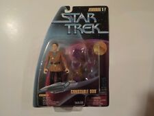 "STAR TREK Playmates 5"" Warp Factor Series 1 DS9 CONSTABLE ODO MOC NEW"