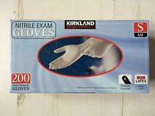 Kirkland Signature Nitrile Exam Gloves 200 Small Multi-Purpose Gloves, Non Latex